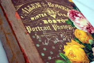 Book front close up