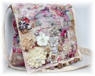 Maya road canvas bag