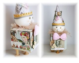 Xyron clown trinket box