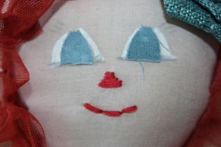 Dolls face