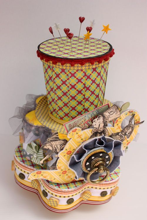 Mad hatter flower box 3